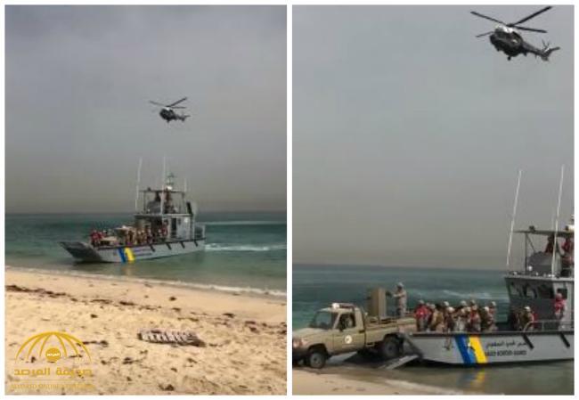 شاهد .. لحظة تسلم حرس الحدود منفذ سلوى الحدودي مع قطر بالكامل