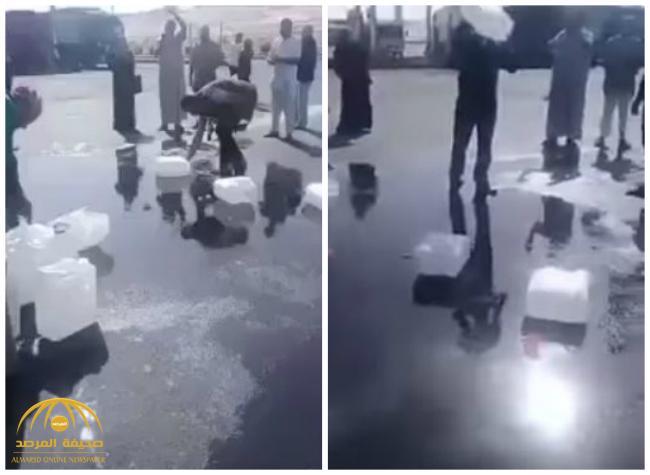 أول تعليق رسمي على فيديو منع المعتمرين الأردنيين من حمل ماء زمزم
