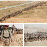 بالصور : قوات الأمن الخاصة تنفذ مشروع السير الطويل .. وهذا الهدف منه