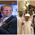بالصور : نجلا ترامب يحضران حفل زفاف في الإمارات