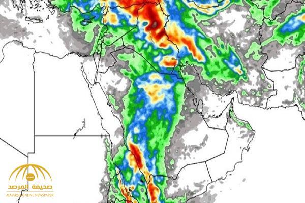 الجمعان: حالة عدم استقرار جوي وأمطار تضرب عدة مناطق في المملكة.. وهذا موعدها !