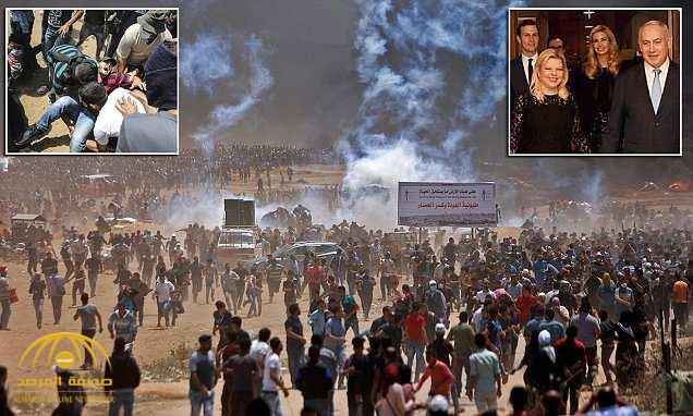 مقتل أكثر من 30 فلسطينيا وإصابة المئات برصاص الجيش الإسرائيلي … شاهد .. صور من وسط المواجهة