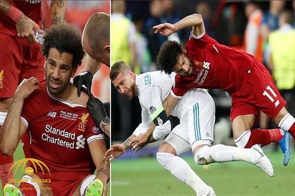 مدرب ليفربول:إصابة محمد صلاح خطيرة في الكتف وقد لا يتمكن من اللعب في كأس العالم