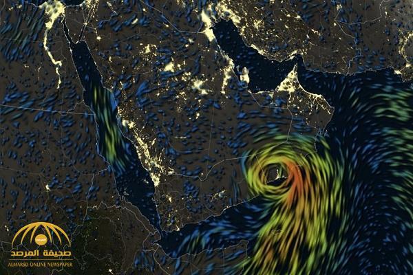 """إعصار """"ميكونو"""" يقترب من المملكة فجر اليوم.. وهذه أبرز المناطق التي سيصل لها!"""