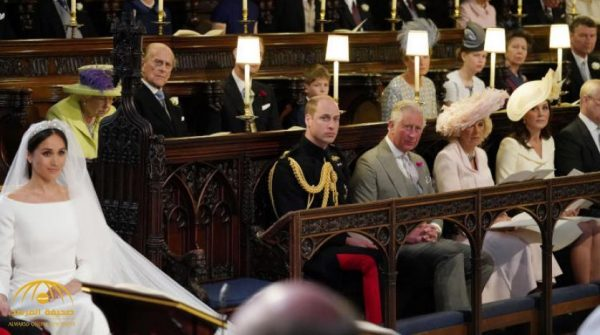 ظل فارغًا طوال مراسم الزواج ..ما سر المقعد الفارغ في زفاف الأمير هاري وميغان؟