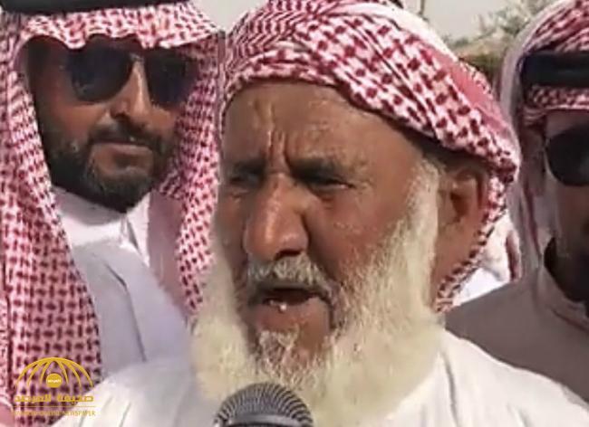 بالفيديو : نجاح حملة الـ50 مليون ريال لعتق رقبة بندر القحطاني .. وهكذا علق والده