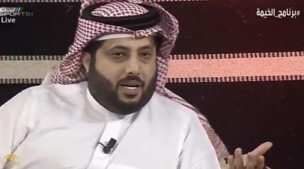 """بالفيديو.. تركي آل الشيخ : قضية  الحكم """"المرداسي"""" ليست فيلم أو مسلسل وهذه الحقيقة !"""