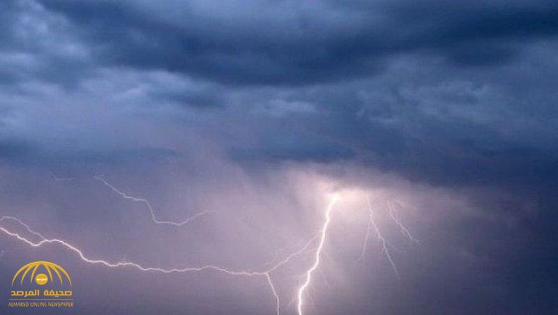 """تسبقها رياح نشطة وأتربة مثارة.. """"الأرصاد"""" تحذر من أمطارٌ رعديّة على 10 مناطق"""