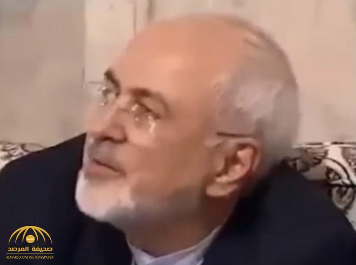 """شاهدبالفيديو: وزير خارجية إيران """"جواد ظريف"""" وهو يردد """"الموت للمسلمين""""!"""
