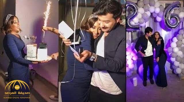 بالفيديو .. الكويتية فرح الهادي تحتفل وترقص بعيد ميلاد عقيل وتصدمه بهدية غير متوقعة