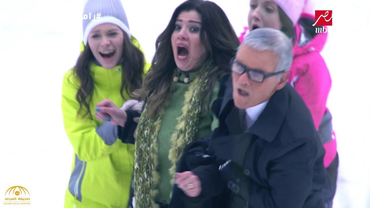 """شاهد ماذا حدث لـ """"رانيا فريد شوقي"""" في مقلب رامز جلال !"""