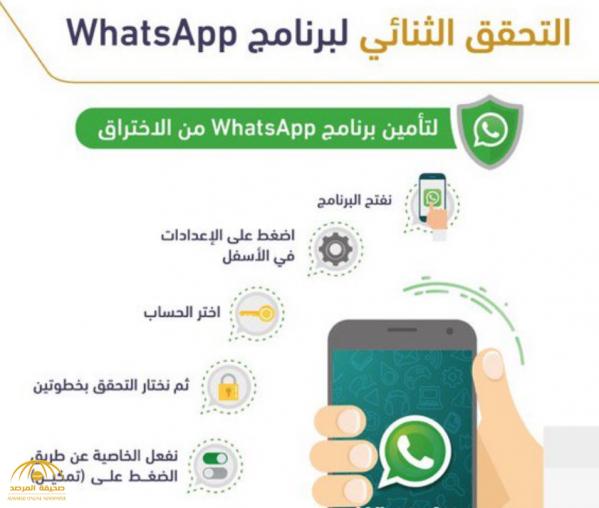 هيئة الاتصالات لمستخدمي «واتساب»: هذه الخطوة ضرورية إذا أردتم حماية حساباتكم من الاختراق