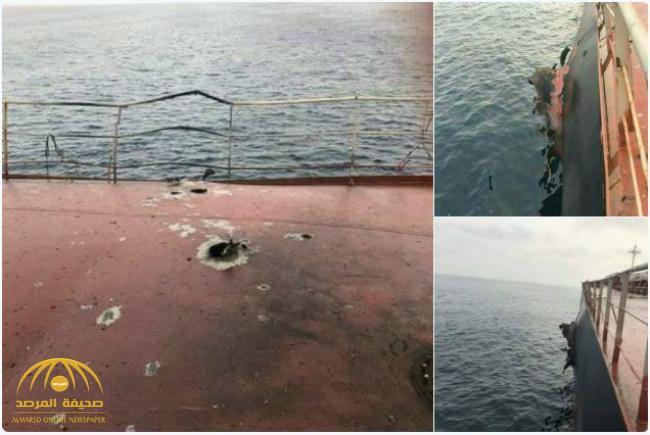 «تحرك مريب أعقبه انفجار» .. التحالف يفتش سفينة تركية محملة بالقمح في طريقها للحديدة.. ولهذا سحبها إلى ميناء سعودي!- صور