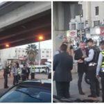 شاهد .. ملك الأردن يظهر فجأة وهو يتحدث مع رجل مرور في شارع عام