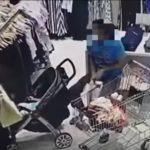 شاهد زوجان يسرقان إحدى المحلات التجارية