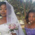 بالصور .. تمساح يقضم ذراع عروس لكنها تقرر مواصلة الزفاف