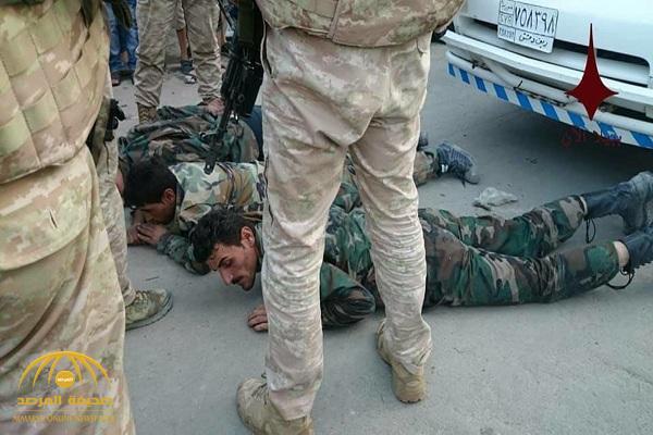 شاهد بالصور: الشرطة العسكرية الروسية تذل عناصر من جنود الأسد بعد ضبطهم يسرقون منازل المدنيين جنوب دمشق