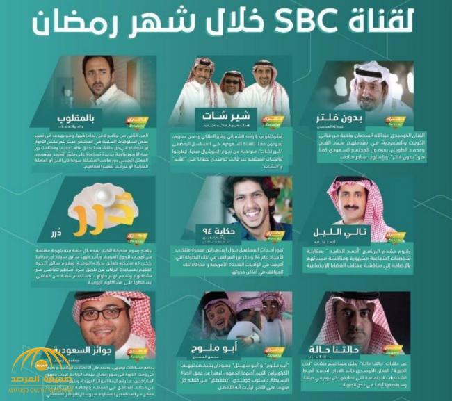 «مفاجآت تنتظر المشاهدين» .. الكشف عن برامج القناة السعودية وقناة SBC الجديدة خلال رمضان.. وهكذا ستكون التغطية «جامعة شاملة»
