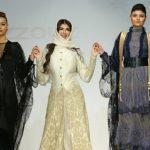 شاركت بتوليفة من ملابس السهرة والفستان الخليجي .. شاهد أول سعودية تشارك في أسبوع الموضة الإسباني- صور