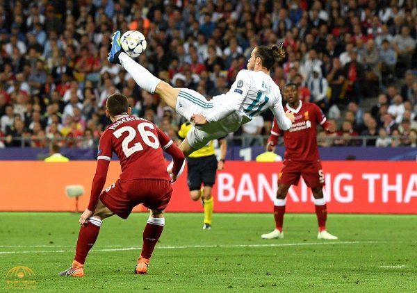 """شاهد هدف """"غاريث بيل"""" العالمي في مرمى ليفربول الذي أذهل عشاق كرة القدم حول العالم"""
