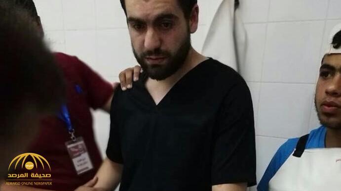 «صدمة العمر».. طبيب فلسطيني يُفاجئ بجثة شقيقه بين المتوفين.. الصورة توضح رد فعله