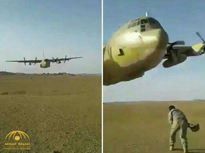 شاهد بالفيديو.. طيار سعودي يستعرض مهاراته في التحليق بطائرة شحن على ارتفاع منخفض