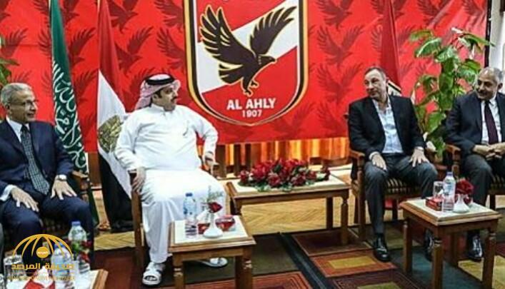 """هاشتاق """"آل الشيخ أكبر من الأهلي"""" يصل ترند.. وهكذا علق الإعلاميين والكتاب الرياضيين!"""