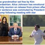 """بعد واسطة """"كيم كارداشيان"""" .. """"ترامب"""" يطلق سراح جدتها المحكوم عليها بالسجن مدى الحياة!"""