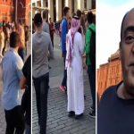 شاهد بالفيديو ماذا يفعل وليد الفراج وشباب سعوديين في الساحة الحمراء بروسيا !؟