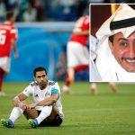 """""""القصبي"""" يعلق ساخرا على هزيمتي مصر  والسعودية أمام روسيا"""