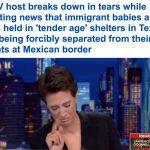 فيديو : ردة فعل مفاجأة لمذيعة أميركية وهي تقرأ تقرير صادم عن الأطفال المهاجرين بالولايات المتحدة
