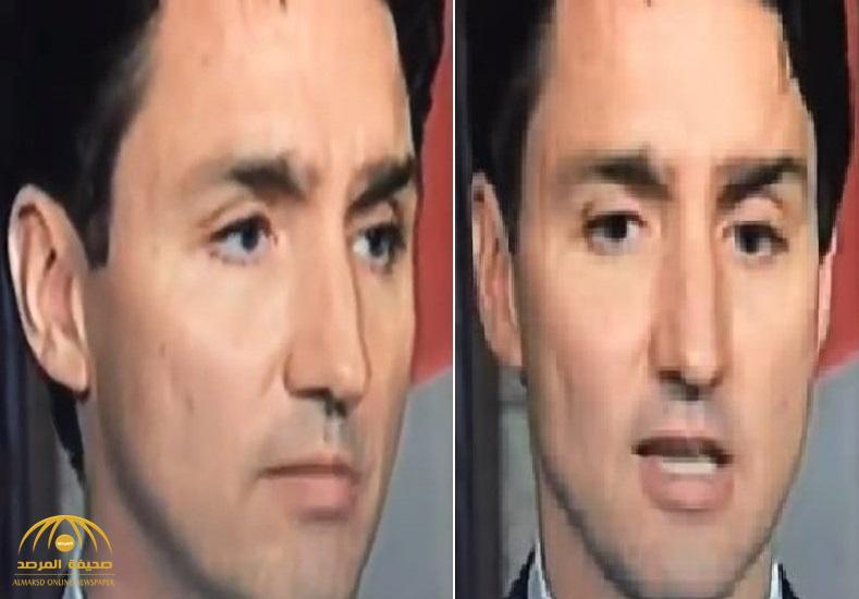 سقط منه هذا الشيء دون أن يدري.. شاهد بالفيديو: رئيس وزراء كندا يتعرض لموقف شديد الإحراج