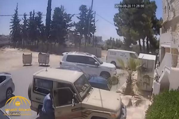 """بالفيديو.. سرقة مواطن سعودي بالأردن.. و""""الأمن الأردني"""" يعلق!"""