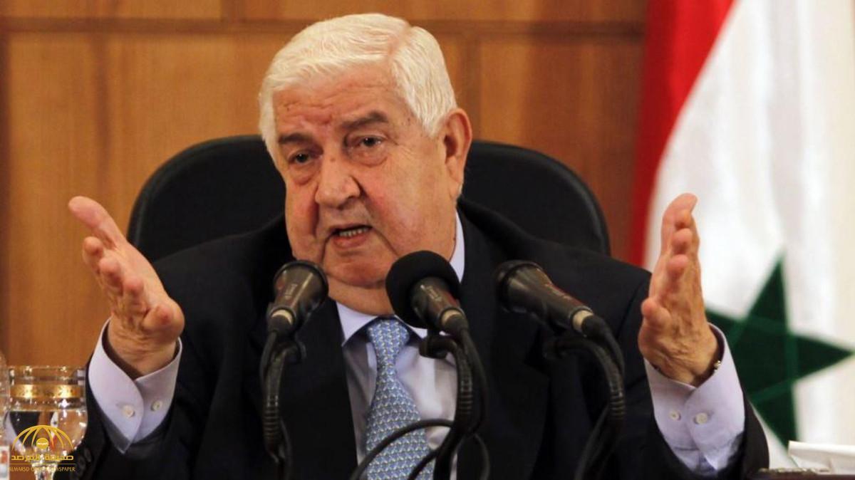 """كيف وصف وزير خارجية الأسد """"وليد المعلم"""" الوجود الإيراني في سوريا!"""
