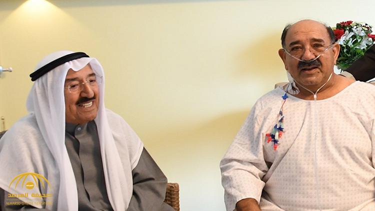 بالفيديو .. أمير الكويت يطمئن على صحة نجله وزير الدفاع في ألمانيا