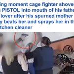 شاهد.. زوجة تستعين بابنها وتبرح عشيقة زوجها ضربا داخل فندق في بريطانيا!