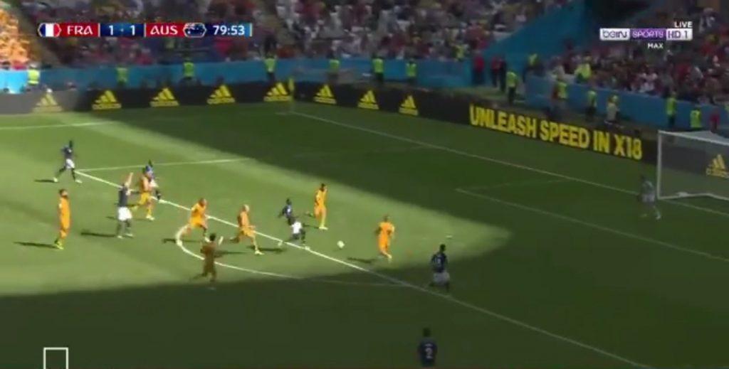 بالفيديو .. فرنسا تفوز بصعوبة على أستراليا بهدفين مقابل هدف