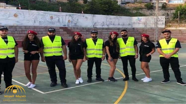 """شرطيات بـ""""شورتات"""" قصيرة يشعلن الجدل في لبنان !"""