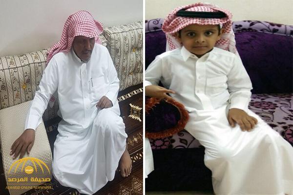 """والد الطفل المقتول في ظروف غامضة بـ """"خميس حرب"""" يفجر مفاجأة حول من يقف وراء الجريمة ! – صور"""