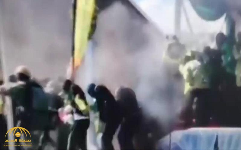 بالفيديو .. لحظة محاولة اغتيال رئيس زيمبابوي في انفجار مفاجىء