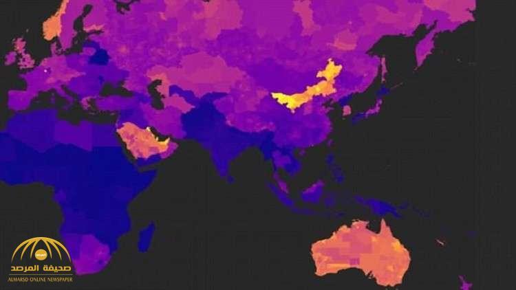 خريطة تكشف المناطق الأكثر تلوثا حول العالم !