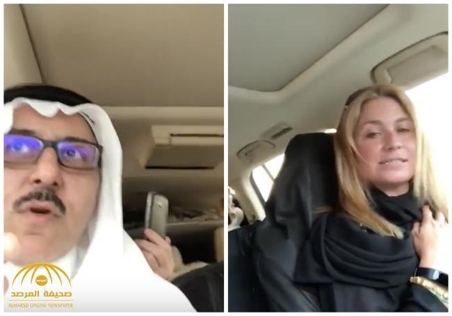 """بالفيديو .. """"إيطالية"""" تقود سيارتها من جدة إلى الطائف وتروي تجربتها للمرة الأولى عن القيادة بالمملكة"""