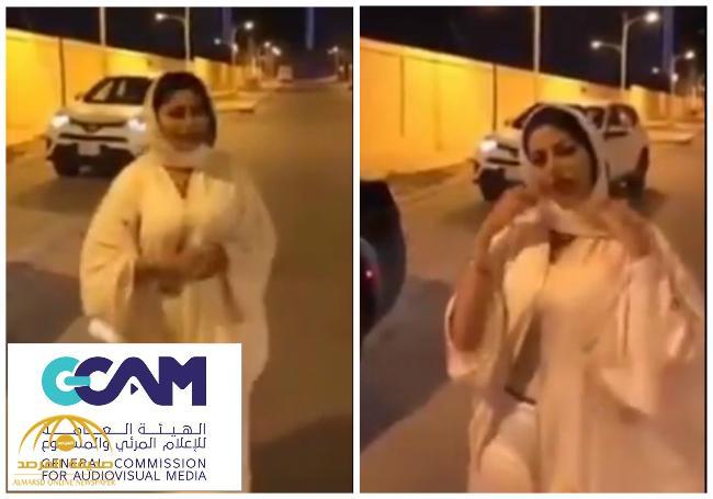 التحقيق مع مذيعة تلفزيونية لظهورها بملابس غير محتشمة أثناء تقريرها عن قيادة المرأة