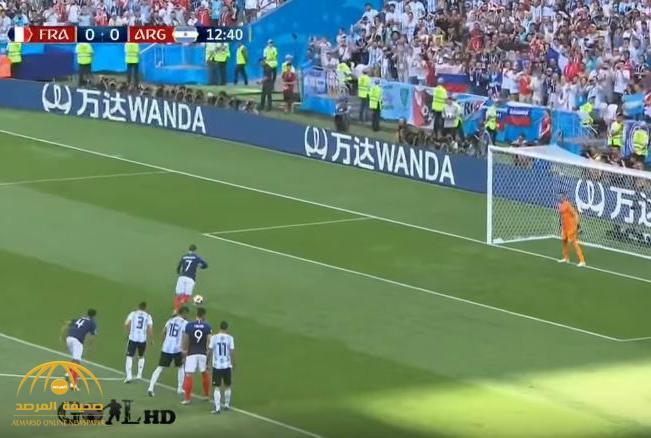 """بالفيديو : فرنسا تمطر شباك منتخب """"التانغو"""" بأربعة أهداف"""