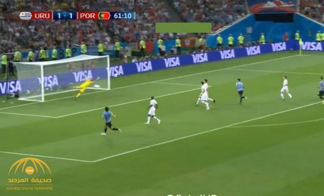 بالفيديو : الأوروغواي تخرج البرتغال من المونديال بهدفين مقابل هدف