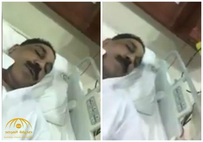 شاهد .. أول ظهور للفنان عبدالله الرويشد من داخل المستشفى بعد تعرضه لوعكة صحية مفاجئة