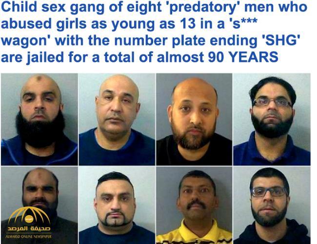 """تفاصيل القبض على مسلمين تحرشوا  بـ""""فتيات"""" في بريطانيا -صور"""