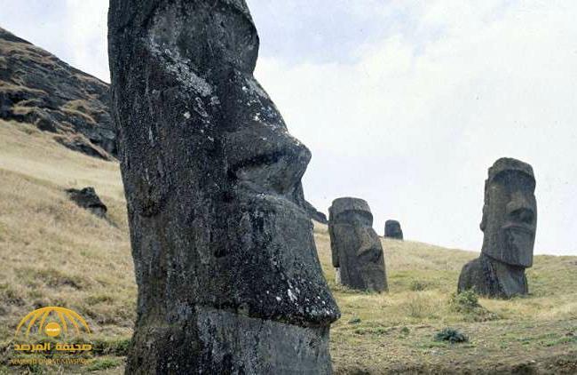 حل لغز قبعات التماثيل العملاقة على جزيرة الفصح