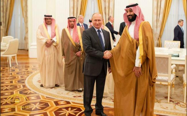 بالصور .. الرئيس الروسي يستقبل الأمير محمد بن سلمان في الكرملين