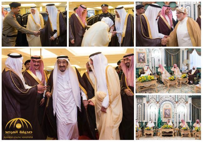 بالصور : خادم الحرمين يصل مكة المكرمة لقضاء العشر الأواخر من رمضان بجوار بيت الله الحرام